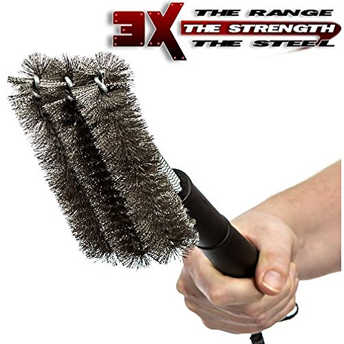 how to clean a barbecue brush